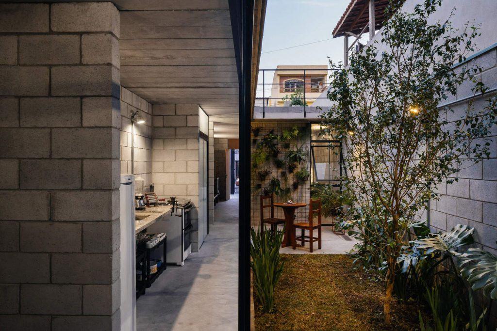 Casa de bajo costo premiada en brasil mundo fachadas - Costo medio costruzione casa ...