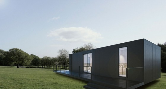 Design and plans of an innovative 2 simple house
