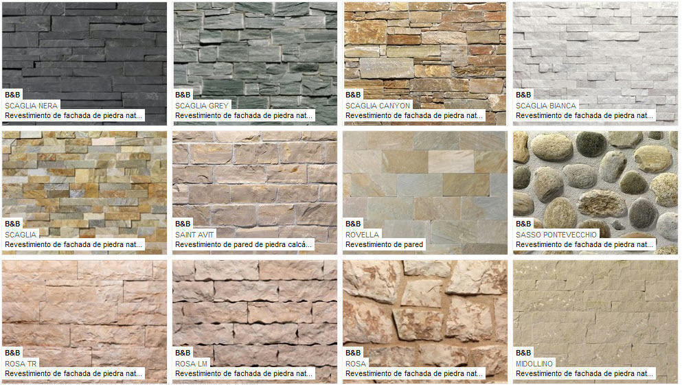 Utilizaci n de piedra en fachadas modernas mundo fachadas - Pared interior de piedra ...
