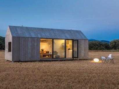Casa Prefabricada Pequena Diseno Economico Y Funcional De Un Solo
