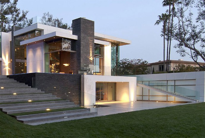 estilo contempor neo mostramos dise o de fachadas y On fachadas estilo contemporaneo