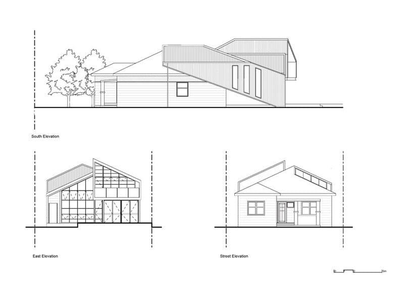 Casa Híbrida mostramos como mediante una renovación se convierte en una moderna vivienda de dos pisos 5