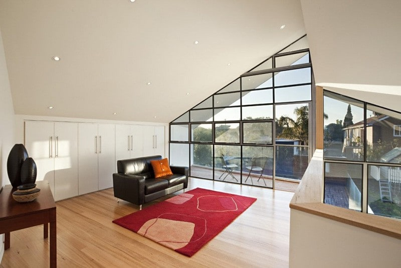 Casa Híbrida mostramos como mediante una renovación se convierte en una moderna vivienda de dos pisos 6
