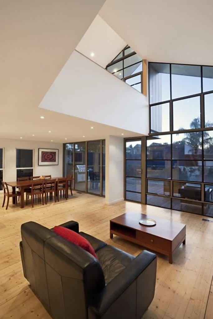 Casa Híbrida mostramos como mediante una renovación se convierte en una moderna vivienda de dos pisos 7