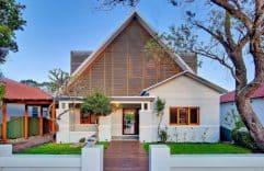 Lo Clásico y lo Moderno, juntos a la par, dan como resultado esta bonita vivienda