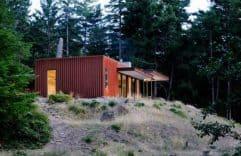 Casa de campo moderna y económica, descubre como obtener las mejores visuales gracias a la distribución utilizada