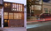 Casa de ladrillos diseñada en espacio pequeño, distribución interior y planos