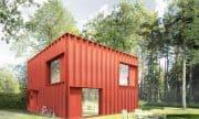 Hemnet House, un diseño cómodamente pequeño. Interiores, exteriores y Planos