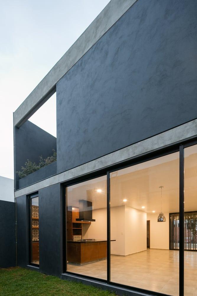 Diseño de casa rústica moderna, con planos e interiores | Mundo Fachadas