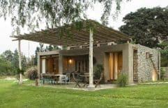 Parte 1: casas de campo con fachadas y planos, conoce diseños únicos