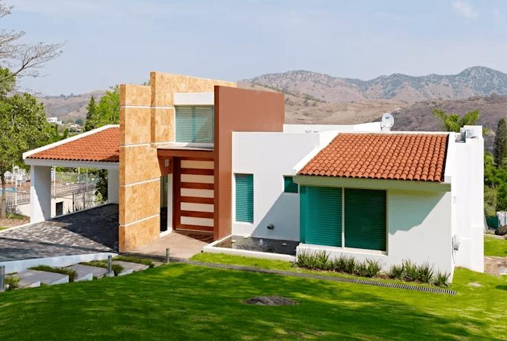 Parte 2 casas r sticas dise adas por arquitectos for Fachadas de casas mexicanas rusticas