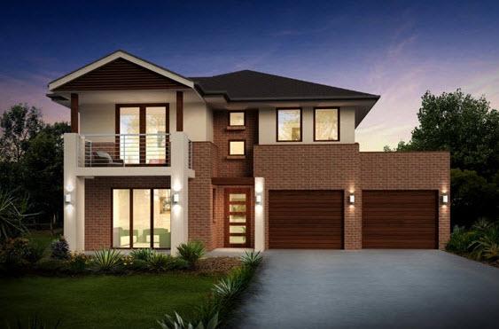 Parte 1 fachadas y planos de casas modernas mundo fachadas for Casa de una planta sencilla