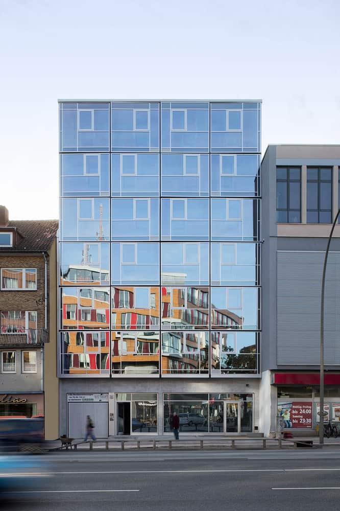 edificio de 6 pisos ideal para oficinas o residencial