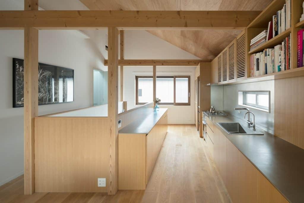 Casa de estilo japones conoce su dise o interior moderno en madera y planos mundo fachadas - Habitaciones estilo japones ...