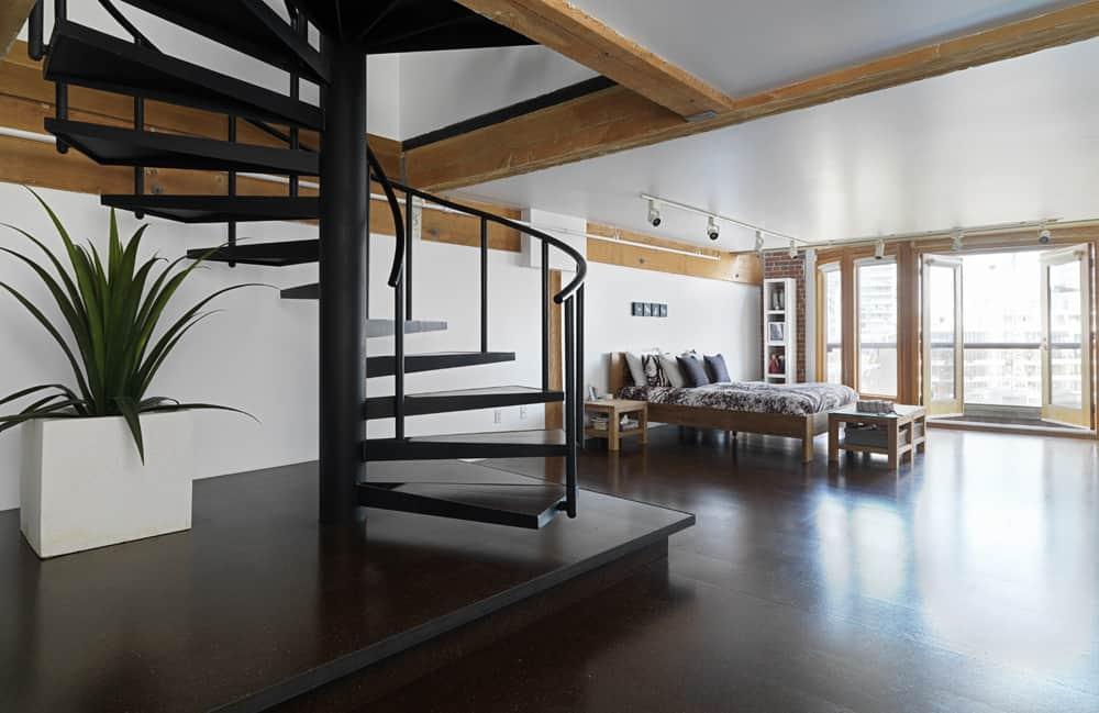 Loft moderno con interiores minimalistas, presentamos su diseño y ...