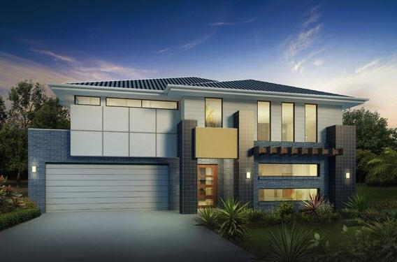 Parte 1 fachadas y planos de casas modernas mundo fachadas for Planos de casas minimalistas de 2 pisos