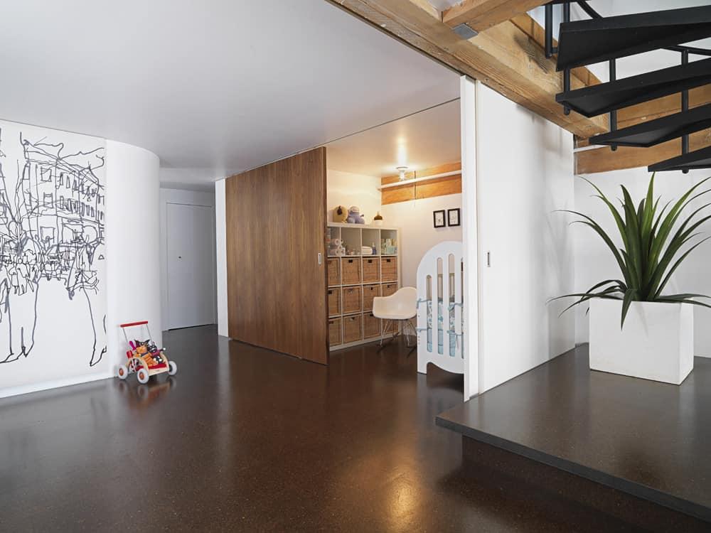 Loft moderno con interiores minimalistas presentamos su for Planos de interiores