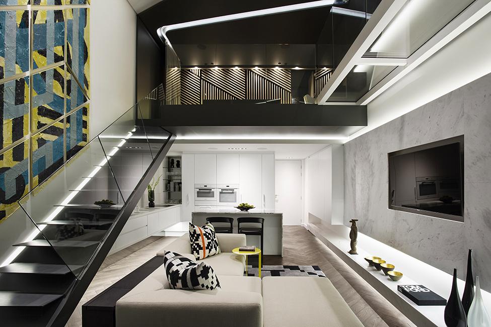 Diseño de departamento moderno pequeño, te mostramos como conseguir una decoración interior de lujo con un presupuesto bajo
