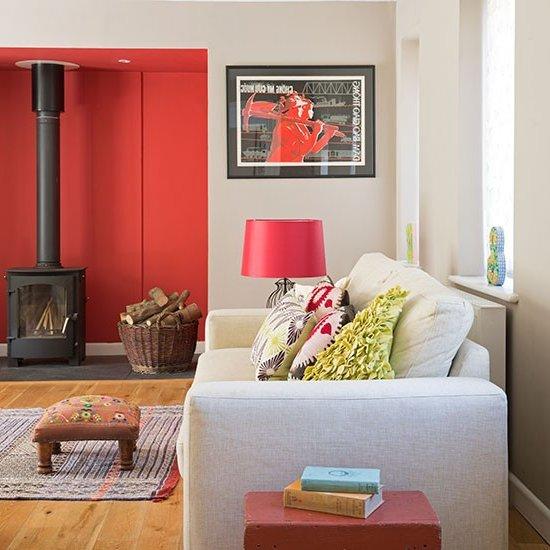 Dise o de salones peque os muebles y accesorios de decoraci n para hacer de ellos un lugar - Disenos de salones pequenos ...