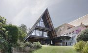 Casa moderna de dos pisos en México, analizamos un diseño único con interiores contemporáneos tradicionales
