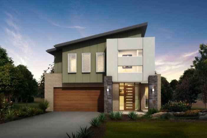 Parte 2 fachadas y planos de casas modernas mundo fachadas for Casas modernas de dos pisos 2017