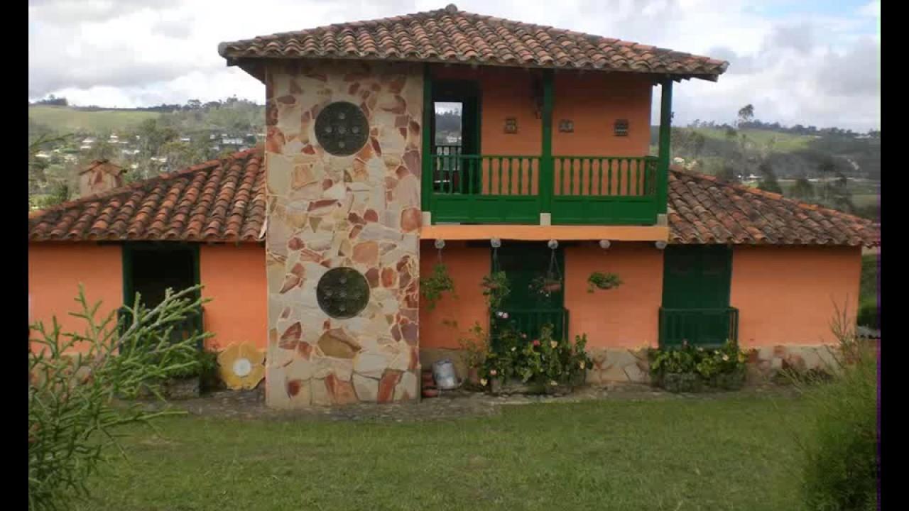 Dise os de fachadas de casas de una y dos plantas nos - Fotos de fachadas rusticas ...