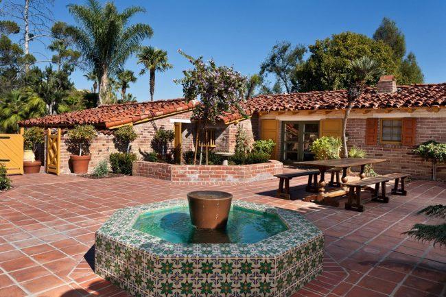 Dise o de jardines mexicanos disfruta de cada imagen e - Fuentes de patio ...