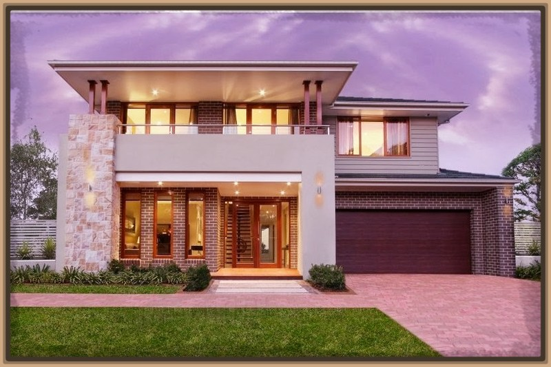 Dise os de fachadas de casas de una y dos plantas nos for Casa minimalista 2 plantas
