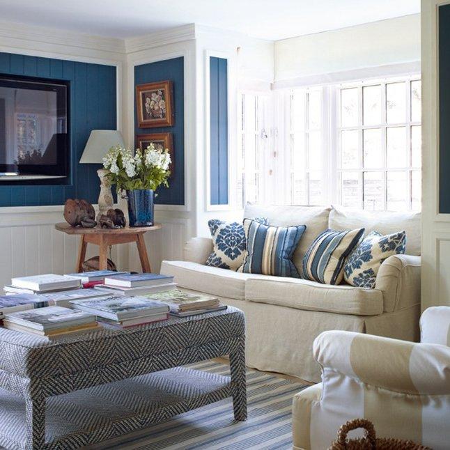 Dise o de salones peque os muebles y accesorios de for Muebles de salon pequenos
