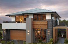 Parte 2: Fachadas y planos de casas modernas