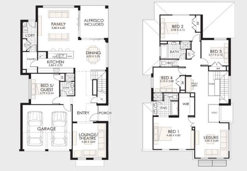 Parte 2 fachadas y planos de casas modernas mundo fachadas for Casas modernas planos y fachadas