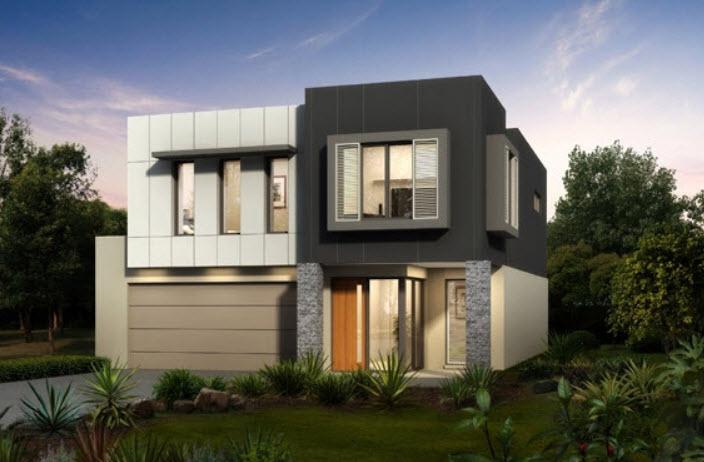 Fotos de fachadas de casas esquineras modernas 52
