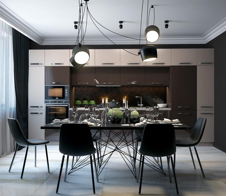 Diseño de comedores modernos para tu hogar, ejemplares de diferentes ...