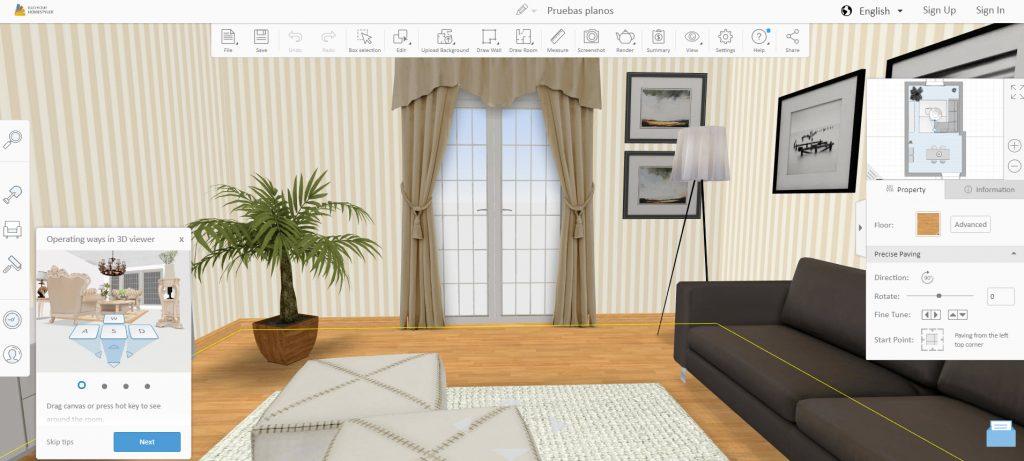 Aplicaciones de dise o de planos de casas y decoraci n de for Aplicacion decoracion interiores