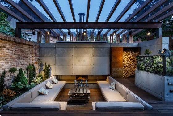 Parte 1 10 dise os para darle vida a tu terraza un Disenos modernos con elementos de madera