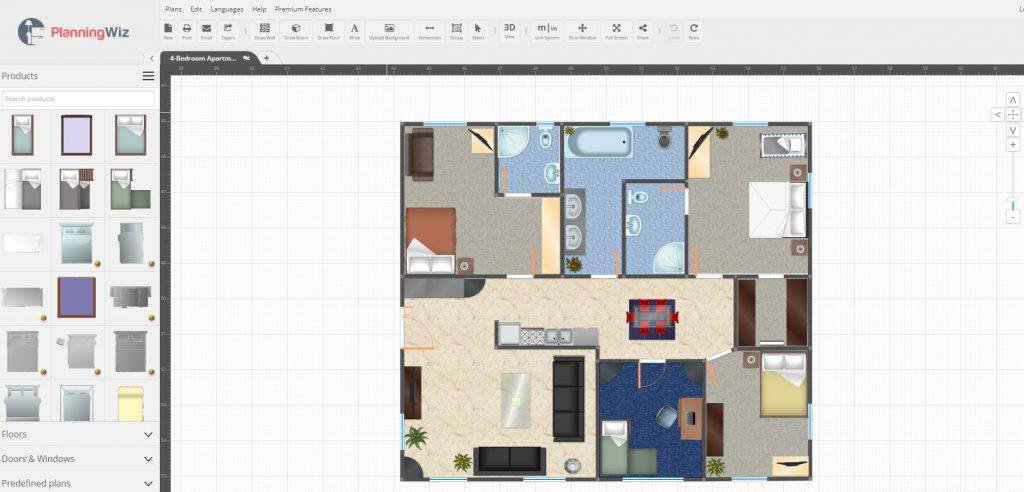 Aplicaciones de dise o de planos de casas y decoraci n de - Aplicacion para diseno de interiores ...