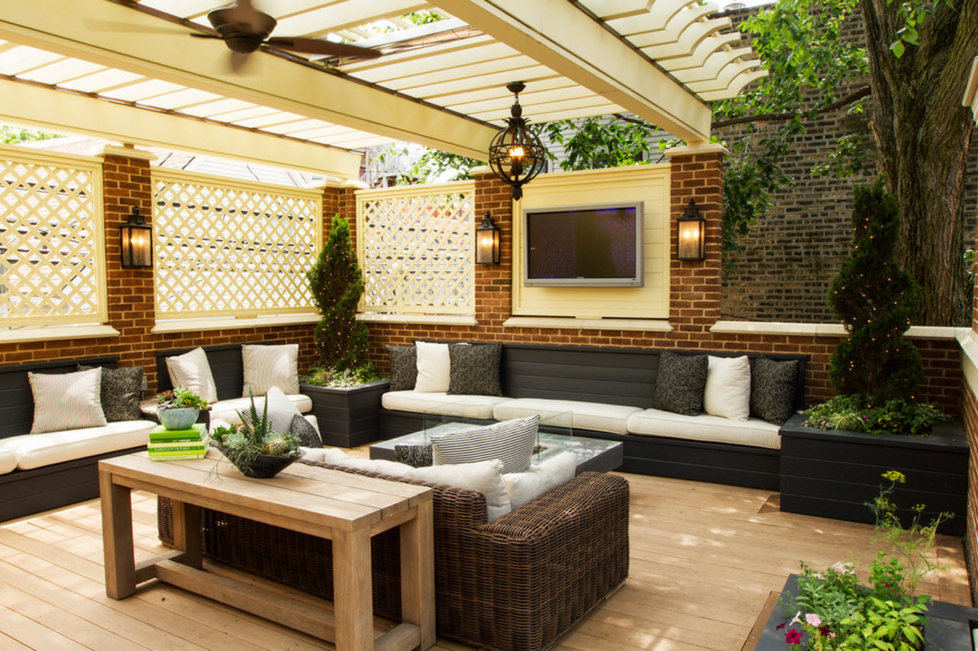 Part 1 10 Designs To Give Life To Your Terrace A Space Of