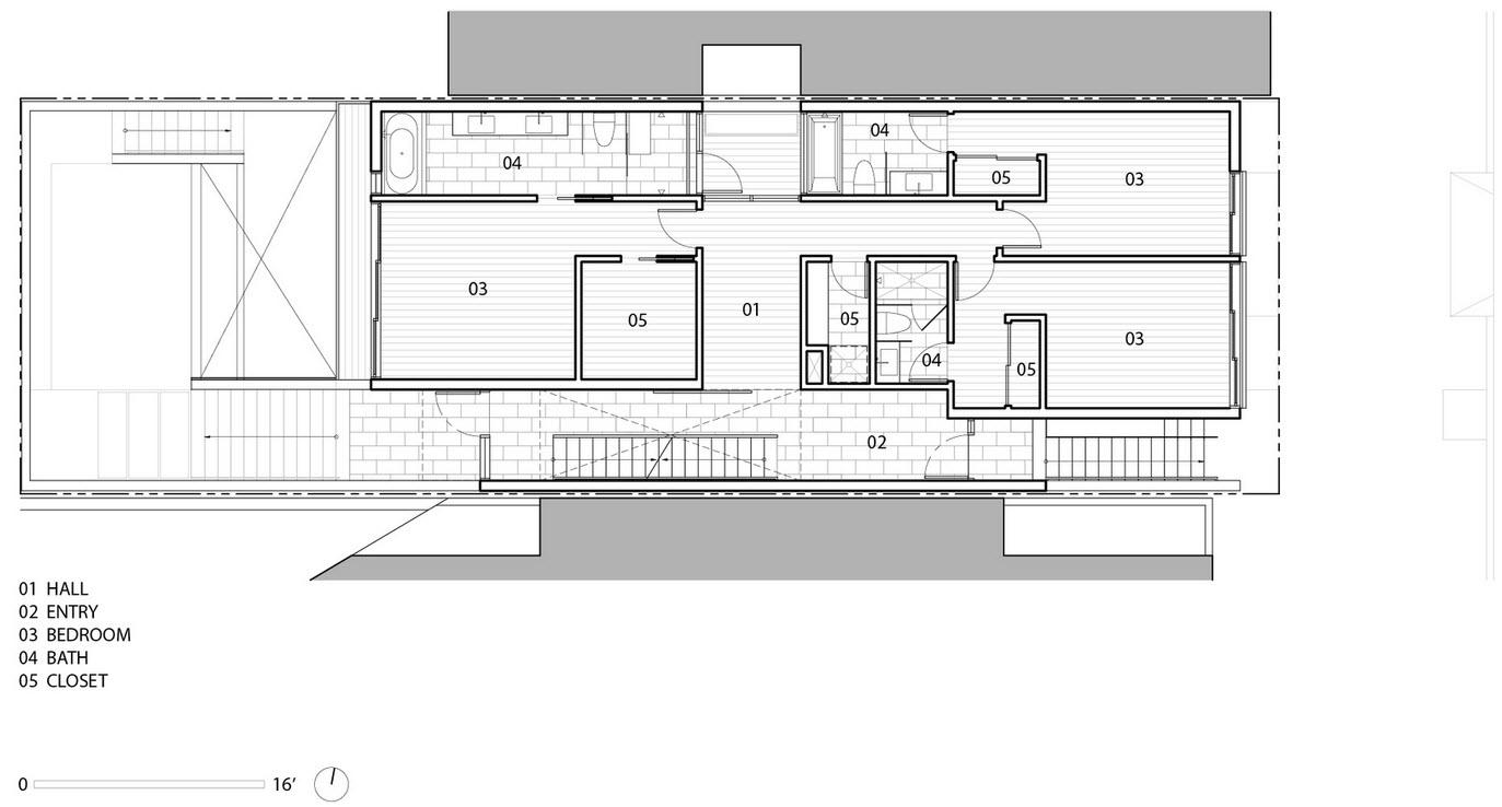 Planos de casa de tres pisos la primer planta puede ser for Planos de casas de 3 pisos