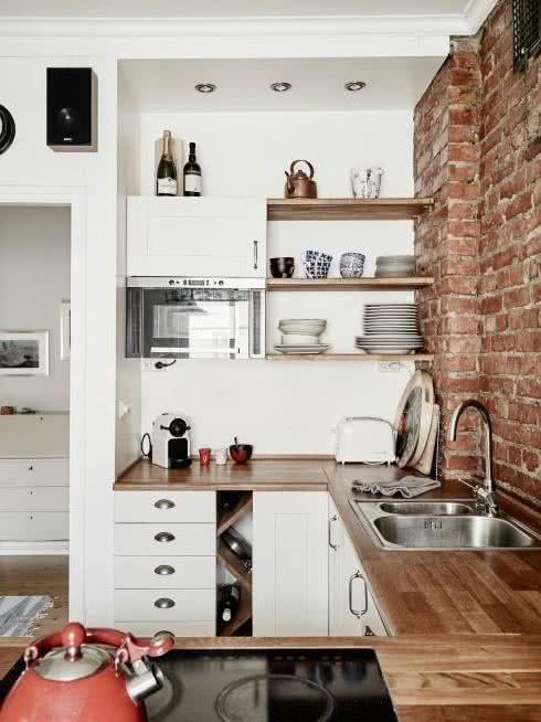 Diseño de cocinas pequeñas de diferentes estilos, ¿Cuál se ...