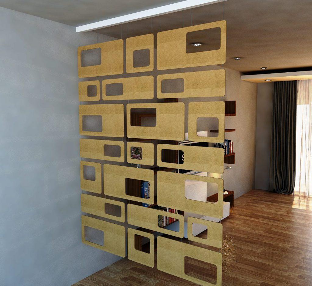 Separador de ambientes ideal para espacios peque os util zalo en tu hogar para distribuir mejor - Biombos y separadores de espacios ...