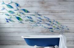 Revestimientos para baños, te compartimos 10 ideas que lo cambiarán por completo
