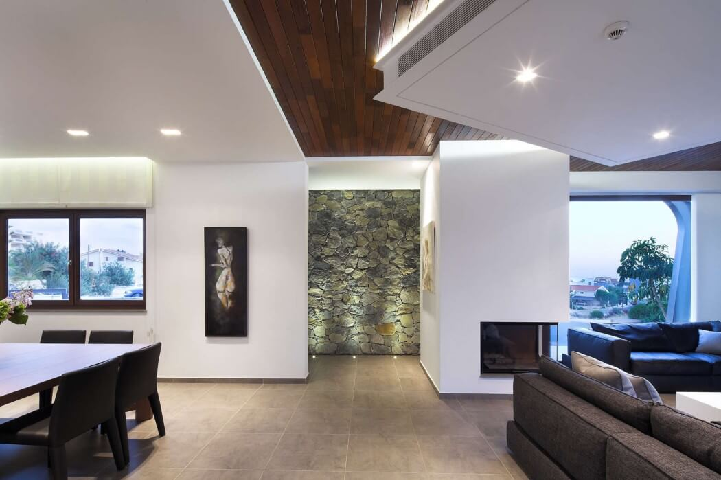 Dise o de casa moderna de dos plantas disfruta de una Planos interiores de casas modernas