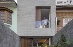 Casa pequeña construida en terreno angosto de 4 metros de ancho, te enseñamos como aprovechar el espacio de la mejor manera
