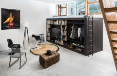 Closet, librero, cama, un todo en uno para que puedas utilizar en tu casa