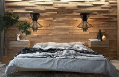 Paredes de madera en dormitorios, te compartimos ideas geniales con un toque rústico para utilizar en tu hogar