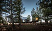 Cabaña moderna en la altura de Colorado, una construcción única que te hará volar por el cielo estadounidense