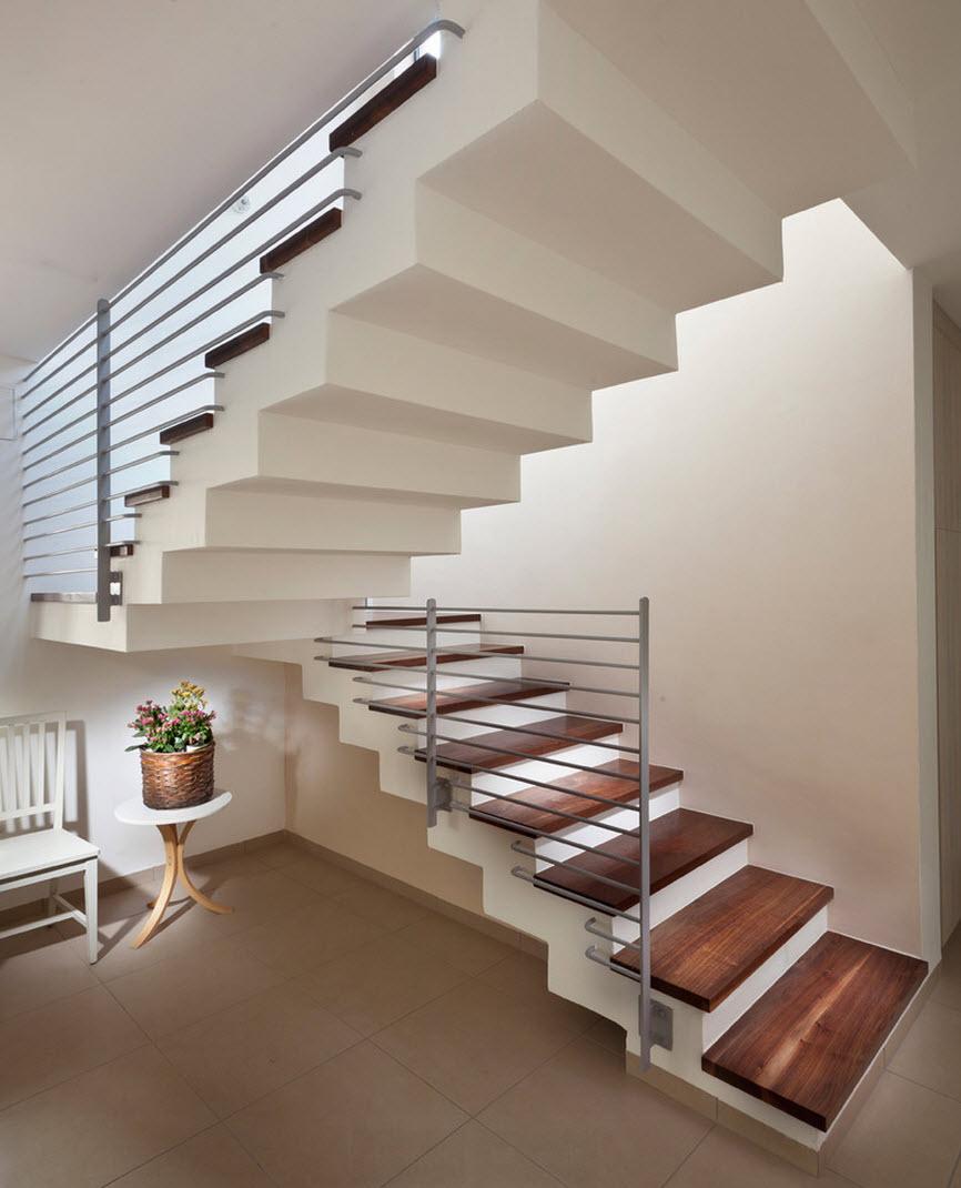 Diseno De Escaleras Y Pasamanos Te Compartimos Varias Ideas Para - Barandas-escaleras-modernas