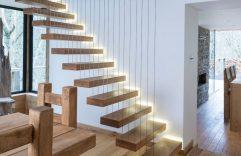 Diseño de escaleras y pasamanos, te compartimos varias ideas para que remodeles esta parte de tu hogar