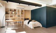 Diseño de departamento pequeño donde veremos como maximizaremos los espacios
