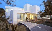 Diseño de casa ecológica de estilo minimalista con consumo de energía mínimo, disfruta de Villa di Gioia